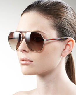 Gucci Basic Aviator Sunglasses