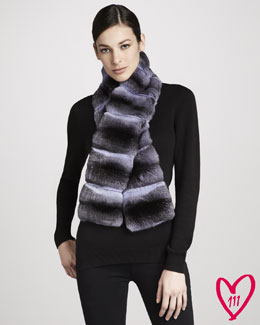 Pologeorgis Chinchilla Scarf
