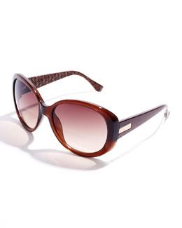 Diane von Furstenberg  Carolina Oversize Sunglasses