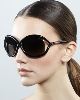 Tom Ford Whitney Polarized Cross Sunglasses