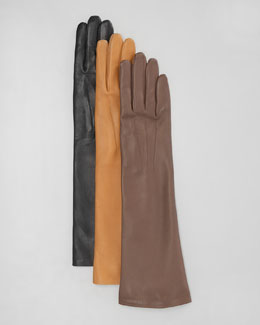 Lanvin Lambskin Medium-Length Gloves