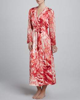 Oscar de la Renta Sunset Mirage Robe