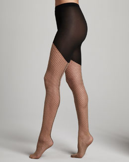 Wolford Neptune Circle-Lace Tights