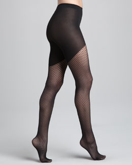 Wolford Neptune Diamond-Lace Tights