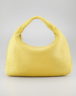 Bottega Veneta Veneta Large Hobo Bag, Yellow