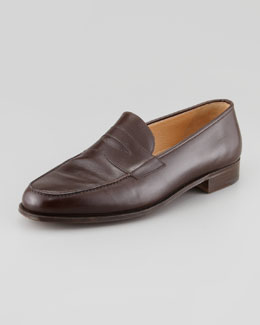 Gravati Classic Penny Loafer, Dark Brown