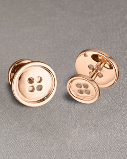 Robin Rotenier Button cufflinks