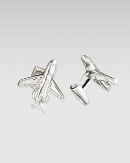 Robin Rotenier Private Jet Cuff Links