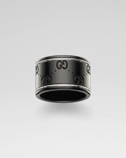 Gucci Icon Corundum Ring