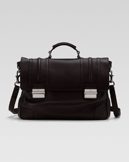 Gucci Cellarius Leather Briefcase