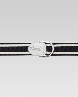 Gucci Web Slider Belt