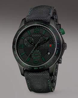 Gucci G-Timeless Chronograph Watch