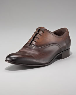 Lanvin Burnished Oxford