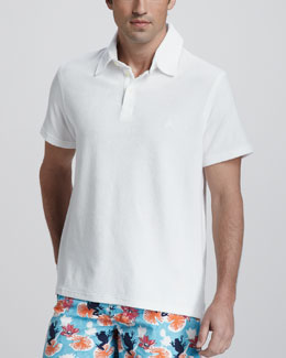 Vilebrequin Terry Polo, White