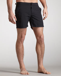 Orlebar Brown Bulldog Swim Shorts, Black