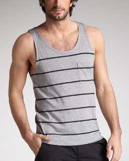 Theory Striped Modal-Pima Tank