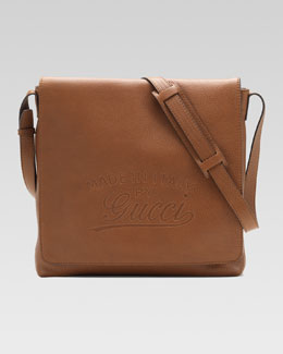 Gucci Flap Messenger Bag