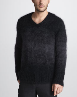 John Varvatos Ombre Cable Sweater