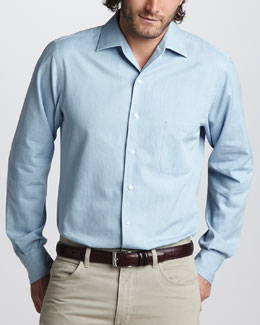 Loro Piana Lightweight Denim Shirt