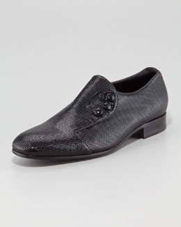 Giorgio Armani Metallic Formal Shoe