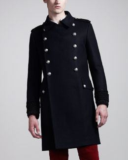 Balmain Military Topcoat