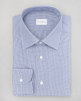 Ermenegildo Zegna Check Dress Shirt