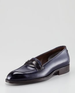 Tom Ford Stanford Cross-Strap Loafer