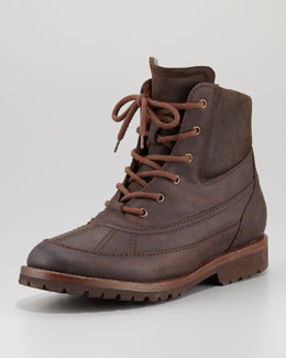 Brunello Cucinelli Cashmere-Lined Winter Boot