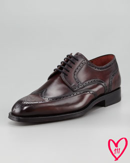 Magnanni for Bergdorf Goodman BG 111th Anniversary Cordovan Brogue