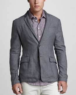 Rag & Bone Phillips Cotton Blazer