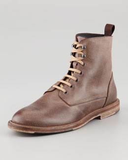 Bergdorf Goodman Gaucho Lace-Up Boot