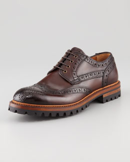 Bergdorf Goodman Sierra Lug-Sole Brogue