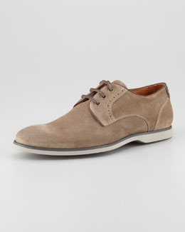 John Varvatos Monaco Deck Oxford, Clay