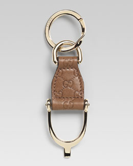 Gucci Mini Stirrup Key Chain