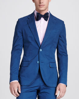 Lanvin Overdyed Cotton Sport Coat