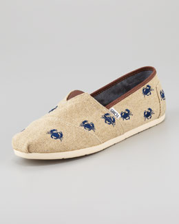TOMS Crabs Slip-On