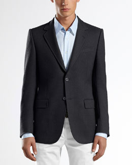 Gucci Caspian Structured Marseille Jacket