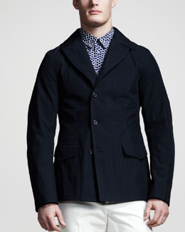 Jil Sander Asymmetric Three-Button Jacket