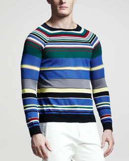 Jil Sander Multi-Stripe Sweater