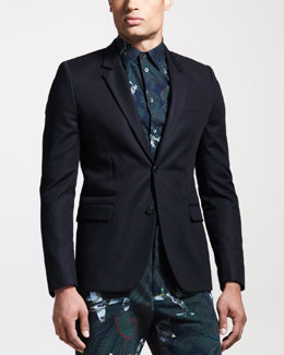 Givenchy Two-Button Blazer