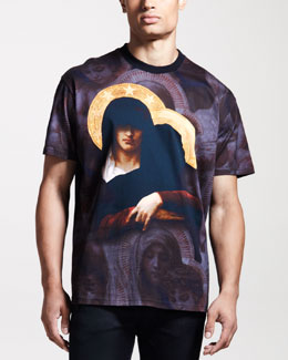 Givenchy Columbian-Fit Gangster Madonna Tee