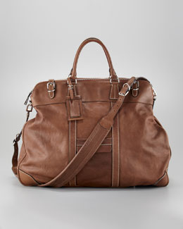 Brunello Cucinelli Zip-Around Weekender Bag