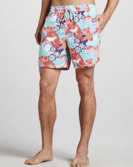 Vilebrequin Moorea Holiday Swim Trunks