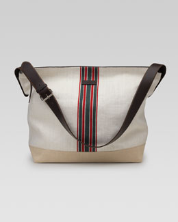 Gucci Hempy Canvas Messenger Bag