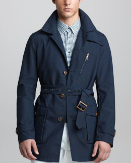 Giorgio Armani Water-Repellant Caban Jacket