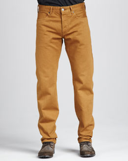 Levi's Made & Crafted Ruler Golden Brown Jeans