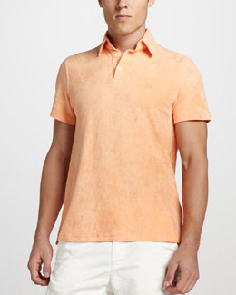 Vilebrequin Terry Polo, Orange