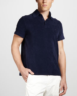 Vilebrequin Terry Polo, Navy