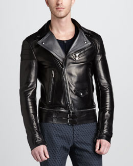 Belstaff Colwyn Leather Motorcycle Jacket