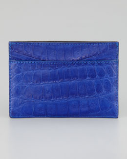Santiago Gonzalez Crocodile Card Holder